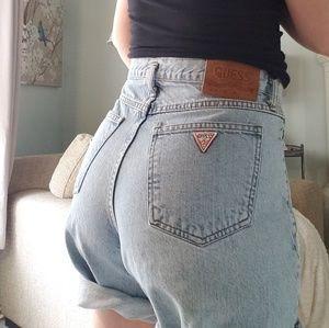 90s Vintage Guess Jean Shorts